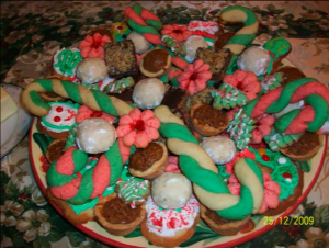 Hybrid Cookies - What my holiday cookie trays look like today